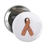 "Bacon awareness ribbon 2.25"" Button"