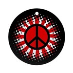 Peace For Japan Ornament (Round)
