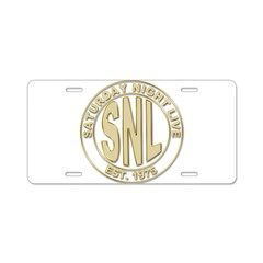 Saturday Night Live Aluminum License Plate