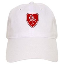 Red Vytis Baseball Cap