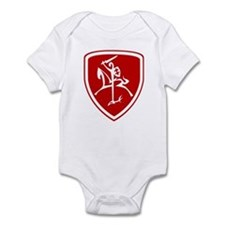 Red Vytis Infant Bodysuit