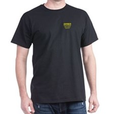 Engineer's Motto Black T-Shirt