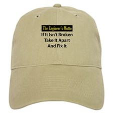 Engineer's Motto Baseball Cap