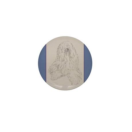 Tibetan Terrier Mini Button (100 pack)