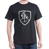 Black and White Vytis T-Shirt
