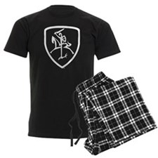Black and White Vytis Pajamas