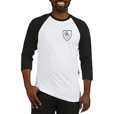 Black and White Vytis Baseball Jersey
