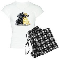 Black Fawn Pug pajamas