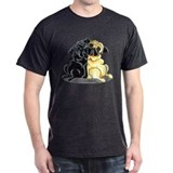 Black Fawn Pug T-Shirt