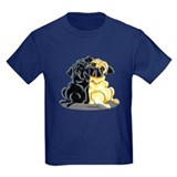 Black Fawn Pug T