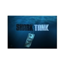 Shark Tank Water Rectangle Magnet