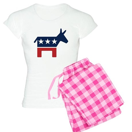 Democrat Donkey Women's Light Pajamas
