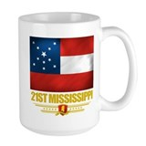 21st Mississippi Infantry Ceramic Mugs