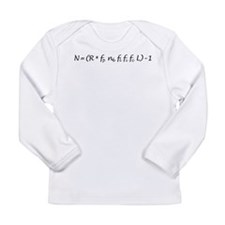 Drake Equation -1 Long Sleeve Infant T-Shirt