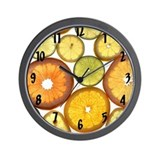 Citrus Fruit Slices Wall Clock Wall Clock