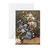 Bouquet of Spring Flowers Greeting Cards (Pk of 10