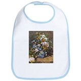 Bouquet of Spring Flowers Bib