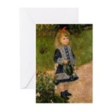 Girl with Watering Can Greeting Cards (Pk of 20)