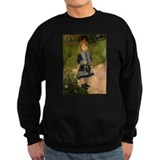 Girl with Watering Can Sweatshirt