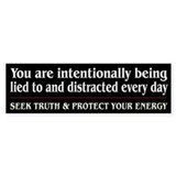 Protect Your Energy ~ Bumper Sticker