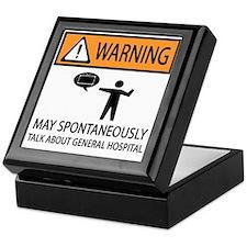 Spontaneously Talk General Hospital Keepsake Box