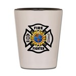 Firefighter Energy Planet Shot Glass