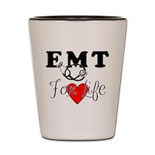 EMT For Life Shot Glass