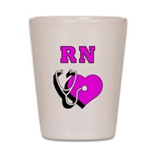 RN Nurses Care Shot Glass