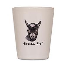 Pygmy Goat Excuse me? Shot Glass
