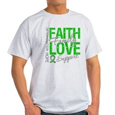 TBI Faith Love Support T-Shirt
