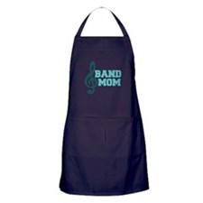 Treble Clef Band Mom Apron (dark)