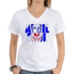 April Fool Women's V-Neck T-Shirt