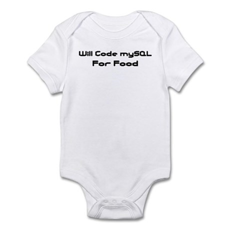 Will Code mySQL For Food Infant Creeper