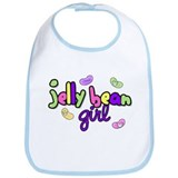 Jelly Bean Girl Bib