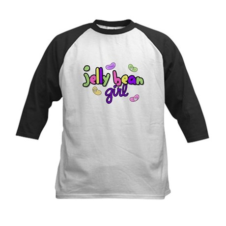 Jelly Bean Girl Kids Baseball Jersey