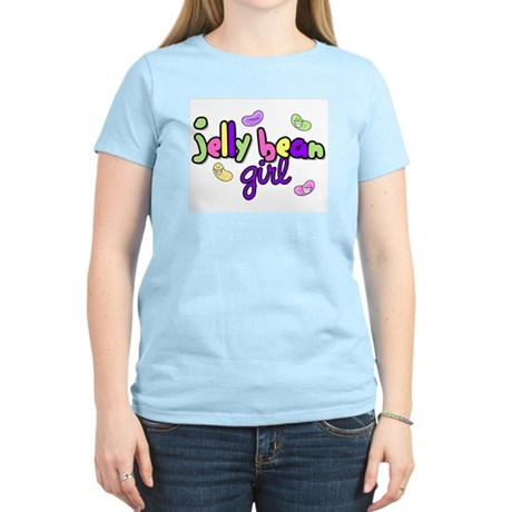 Jelly Bean Girl Women's Pink T-Shirt