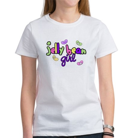 Jelly Bean Girl Women's T-Shirt