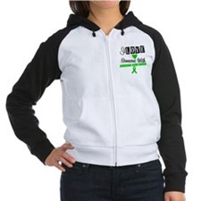 I Love Someone with TBI Women's Raglan Hoodie