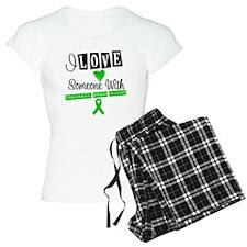 I Love Someone with TBI Pajamas