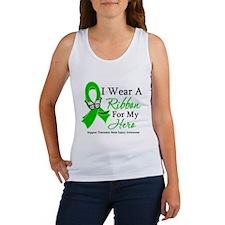 TBI I Wear A Ribbon Hero Women's Tank Top
