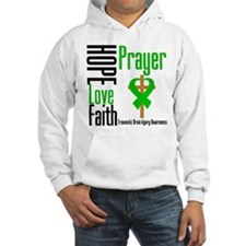 TBI Hope Faith Prayer Hoodie