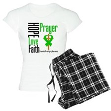 TBI Hope Faith Prayer Pajamas