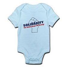 Solidarity - White State - Fi Infant Bodysuit