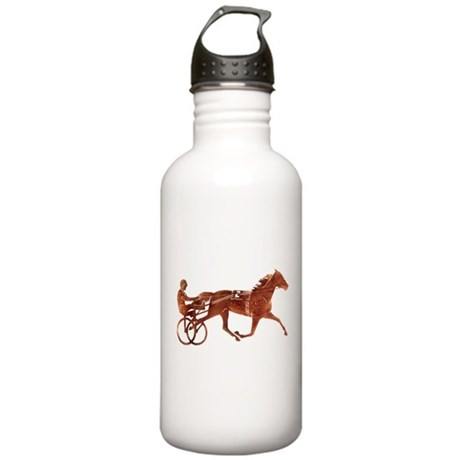 Brown Pacer Silhouette Stainless Water Bottle 1.0L