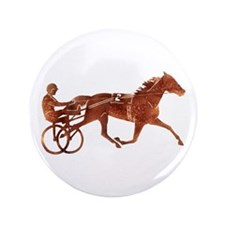 "Brown Pacer Silhouette 3.5"" Button"