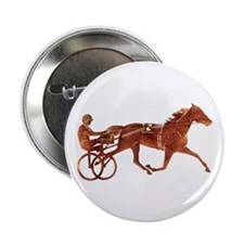 "Brown Pacer Silhouette 2.25"" Button"