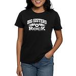 Big Sisters Rock Women's Dark T-Shirt