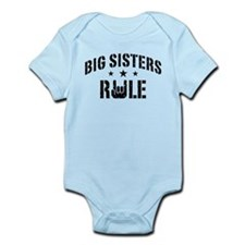 Big Sisters Rule Infant Bodysuit