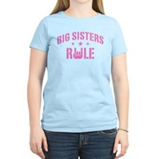 Big Sisters Rule T-Shirt