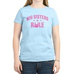 Big Sisters Rule Women's Light T-Shirt